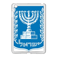 Emblem Of Israel Apple Ipad Mini Case (white) by abbeyz71