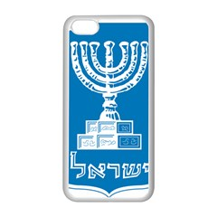 Emblem Of Israel Apple Iphone 5c Seamless Case (white) by abbeyz71