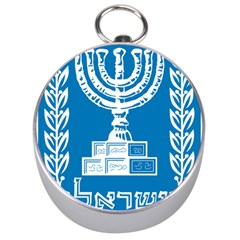 Emblem Of Israel Silver Compasses by abbeyz71