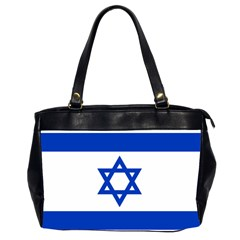Flag Of Israel Office Handbags (2 Sides)  by abbeyz71