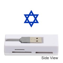 Flag Of Israel Memory Card Reader (stick)  by abbeyz71