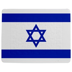 Flag Of Israel Jigsaw Puzzle Photo Stand (rectangular) by abbeyz71