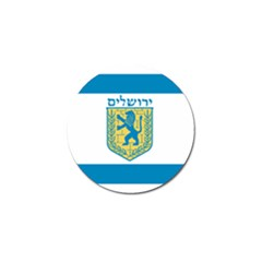 Flag Of Jerusalem Golf Ball Marker (10 Pack) by abbeyz71