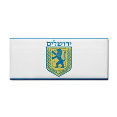 Flag Of Jerusalem Cosmetic Storage Cases by abbeyz71