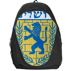 Coat Of Arms Of Jerusalem Backpack Bag by abbeyz71