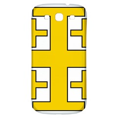 Jerusalem Cross Samsung Galaxy S3 S Iii Classic Hardshell Back Case by abbeyz71