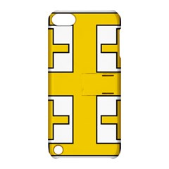 Jerusalem Cross Apple Ipod Touch 5 Hardshell Case With Stand by abbeyz71