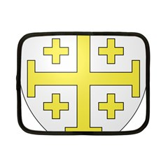 The Arms Of The Kingdom Of Jerusalem  Netbook Case (small)  by abbeyz71