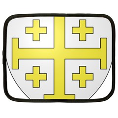 The Arms Of The Kingdom Of Jerusalem  Netbook Case (xxl)  by abbeyz71