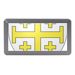 The Arms Of The Kingdom Of Jerusalem  Memory Card Reader (mini) by abbeyz71