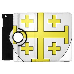 The Arms Of The Kingdom Of Jerusalem  Apple Ipad Mini Flip 360 Case by abbeyz71