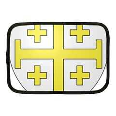The Arms Of The Kingdom Of Jerusalem Netbook Case (medium)  by abbeyz71