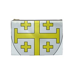 The Arms Of The Kingdom Of Jerusalem Cosmetic Bag (medium)  by abbeyz71