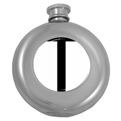 Anchored Cross  Round Hip Flask (5 Oz) by abbeyz71