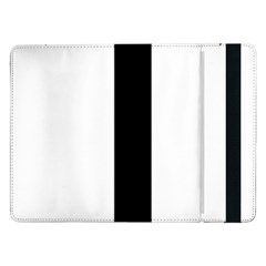 Anchored Cross  Samsung Galaxy Tab Pro 12 2  Flip Case by abbeyz71