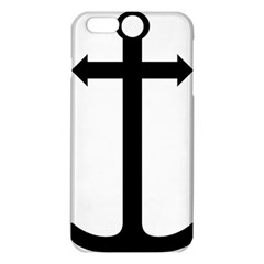 Anchored Cross  Iphone 6 Plus/6s Plus Tpu Case by abbeyz71