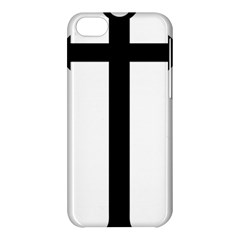 Anchored Cross Apple Iphone 5c Hardshell Case by abbeyz71