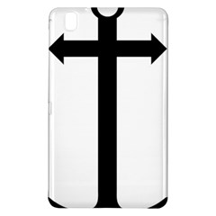 Anchored Cross Samsung Galaxy Tab Pro 8 4 Hardshell Case by abbeyz71