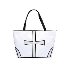 Anchored Cross  Shoulder Handbags by abbeyz71