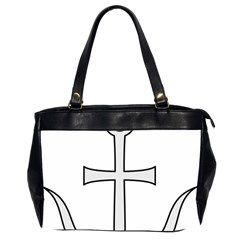 Anchored Cross  Office Handbags (2 Sides)  by abbeyz71