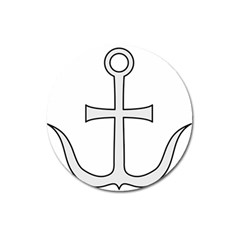 Anchored Cross Magnet 3  (round) by abbeyz71