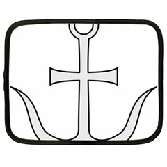 Anchored Cross Netbook Case (large) by abbeyz71
