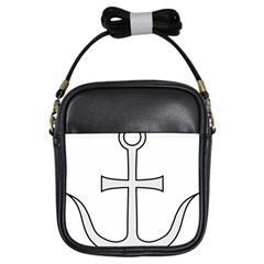 Anchored Cross Girls Sling Bags by abbeyz71