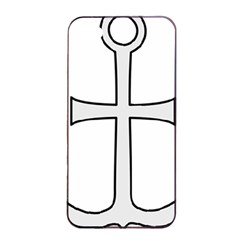 Anchored Cross Apple Iphone 4/4s Seamless Case (black) by abbeyz71