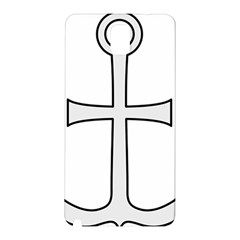 Anchored Cross Samsung Galaxy Note 3 N9005 Hardshell Back Case by abbeyz71