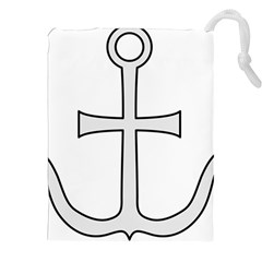 Anchored Cross Drawstring Pouches (xxl) by abbeyz71