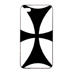 Bolnisi Cross Apple Iphone 4/4s Seamless Case (black) by abbeyz71