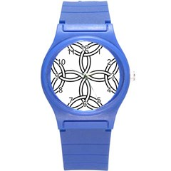 Carolingian Cross Round Plastic Sport Watch (s) by abbeyz71