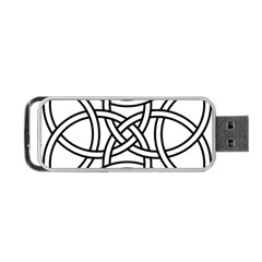 Carolingian Cross Portable Usb Flash (two Sides) by abbeyz71