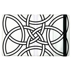 Carolingian Cross Apple Ipad 3/4 Flip Case by abbeyz71