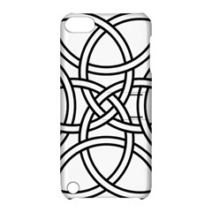 Carolingian Cross Apple Ipod Touch 5 Hardshell Case With Stand by abbeyz71
