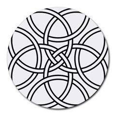 Carolingian Cross Round Mousepads by abbeyz71