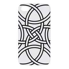 Carolingian Cross Apple Iphone 4/4s Premium Hardshell Case by abbeyz71