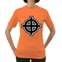 Celtic Cross Women s Dark T Shirt by abbeyz71
