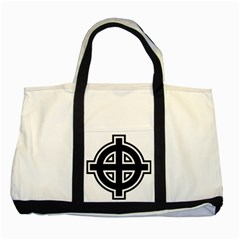 Celtic Cross Two Tone Tote Bag by abbeyz71