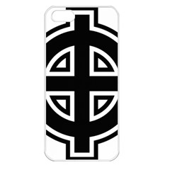 Celtic Cross Apple Iphone 5 Seamless Case (white) by abbeyz71