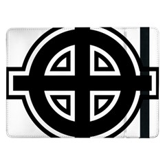 Celtic Cross Samsung Galaxy Tab Pro 12 2  Flip Case by abbeyz71