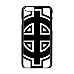 Celtic Cross Apple Iphone 6/6s Black Enamel Case by abbeyz71