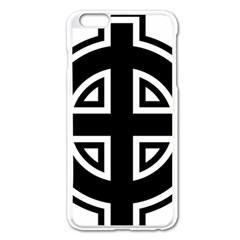 Celtic Cross Apple Iphone 6 Plus/6s Plus Enamel White Case by abbeyz71