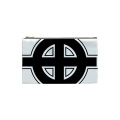 Celtic Cross Cosmetic Bag (small)  by abbeyz71