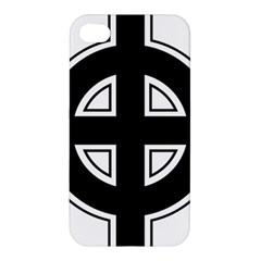 Celtic Cross Apple Iphone 4/4s Premium Hardshell Case by abbeyz71