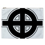 Celtic Cross Cosmetic Bag (XXL)  Front