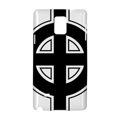 Celtic Cross Samsung Galaxy Note 4 Hardshell Case by abbeyz71