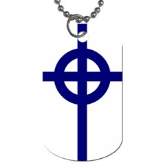 Celtic Cross  Dog Tag (one Side) by abbeyz71