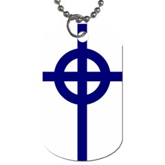 Celtic Cross  Dog Tag (two Sides)