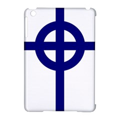 Celtic Cross  Apple Ipad Mini Hardshell Case (compatible With Smart Cover) by abbeyz71